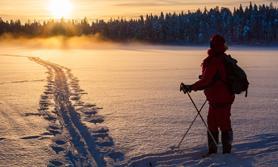 Finnland Schnee