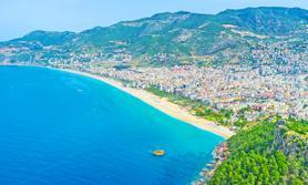 Türkische Riviera Strand