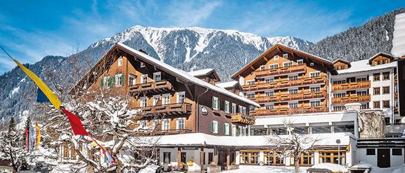 Österreich Winter Posthotel Rössle