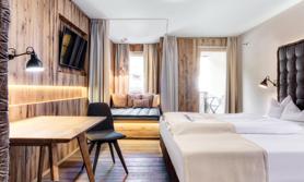Winter Österreich Dolomiten Residenz Hotel Skiurlaub