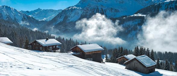 Winterurlaub berge