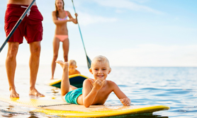 Family Surfen Teneriffa