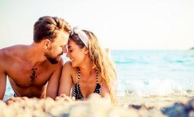 Strand Paar