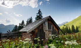 Hütte Österreich